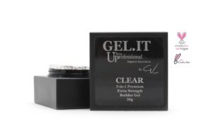 Clear 3-in-1 Premium Builder Gel
